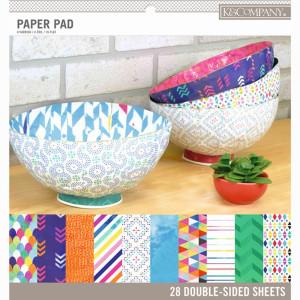 Zestaw papierów 30x30 K&Company - Trend Patterns 28 ark.