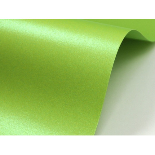 Papier Majestic - Satin Lime 120 g A4 20 ark.