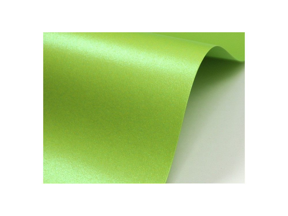 Papier Majestic 120g - Satin Lime, green, A4, 20 ark.