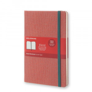 Notatnik Moleskine - Blend Hard Red - Large