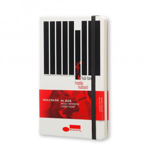 Notatnik Moleskine - BlueNote Hard White - Large
