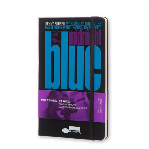 Notatnik Moleskine - BlueNote Hard Black - Large