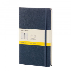 Notatnik Moleskine - Large Squared Sapphire Blue