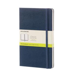 Notatnik Moleskine - Large Plain Sapphire Blue