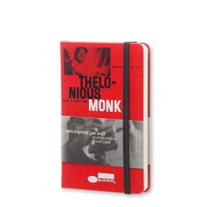 Notatnik Moleskine - Blue Note Pocket Ruled Red