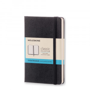 Notebook Moleskine Pocket Dotted Black