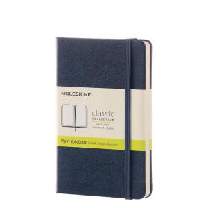 Notatnik Moleskine - Pocket Plain Sapphire Blue