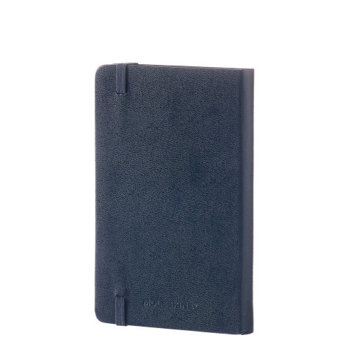 Notebook Moleskine Pocket Plain Sapphire Blue