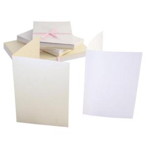 Zestaw 50 kopert i kart A6 Anita's perłowe pastelowe