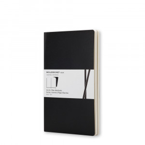 Moleskine Volant - Pocket - Ruled - Black, 2 pcs