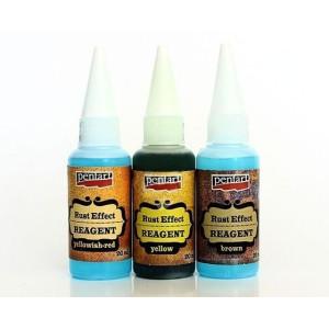 Efekt rdzy - odczynniki 3 x 20 ml, Pentart