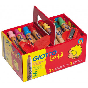 Kredki Giotto Bebe, School Pack, 36 szt.