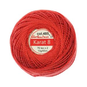 Kordonek Karat 8 - 76x2, 10 g - 65 m, 485