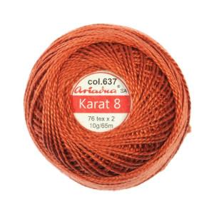 Kordonek Karat 8 - 76x2, 10 g - 65 m, 637