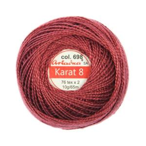 Kordonek Karat 8 - 76x2, 10 g - 65 m, 698