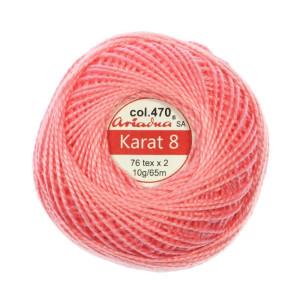 Kordonek Karat 8 - 76x2, 10 g - 65 m, 470