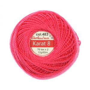 Kordonek Karat 8 - 76x2, 10 g - 65 m, 483