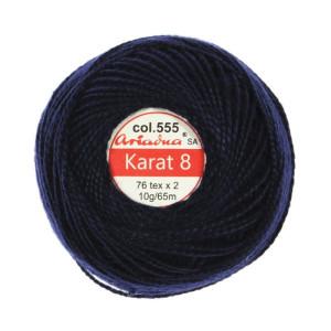 Kordonek Karat 8 - 76x2, 10 g - 65 m, 555