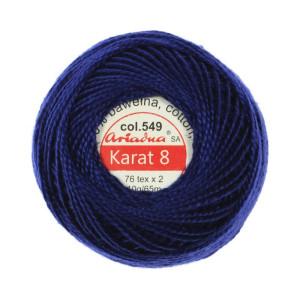 Kordonek Karat 8 - 76x2, 10 g - 65 m, 549