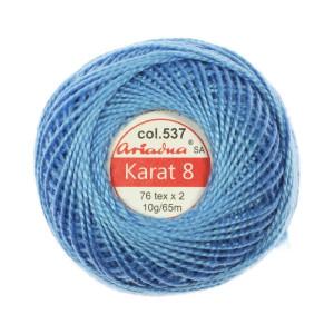 Kordonek Karat 8 - 76x2, 10 g - 65 m, 537
