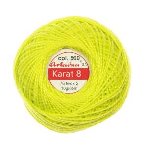 Kordonek Karat 8 - 76x2, 10 g - 65 m, 560