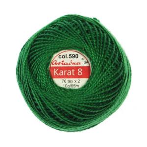Kordonek Karat 8 - 76x2, 10 g - 65 m, 590