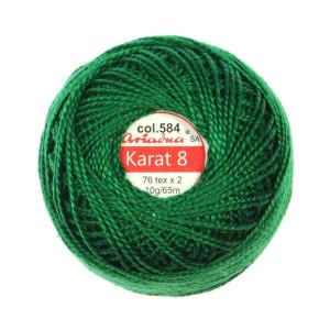 Kordonek Karat 8 - 76x2, 10 g - 65 m, 584