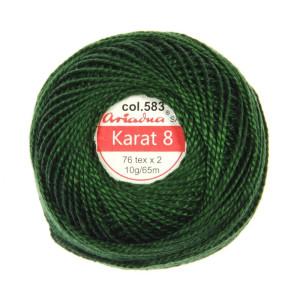 Kordonek Karat 8 - 76x2, 10 g - 65 m, 583