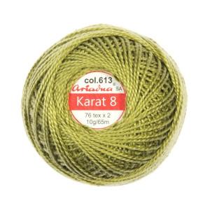 Kordonek Karat 8 - 76x2, 10 g - 65 m, 613