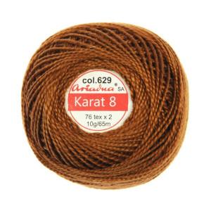 Kordonek Karat 8 - 76x2, 10 g - 65 m, 629