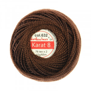 Kordonek Karat 8 - 76x2, 10 g - 65 m, 632