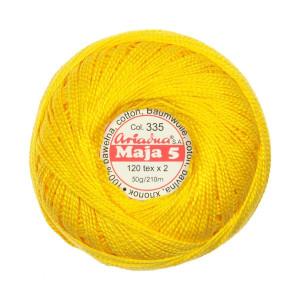 Cotton Embroidery Floss Maja 5 - 120x2, 50 g - 210 m, 335
