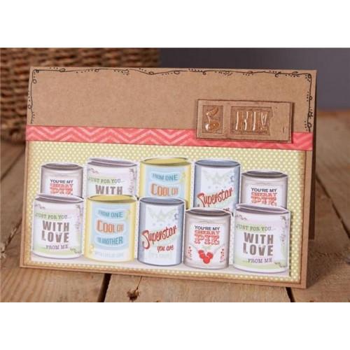 A6 Cards & Envelopes Set - Papermania - Recycled Kraft, 50 pcs