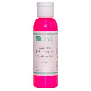 Farba akrylowa neonowa 60 ml Pink