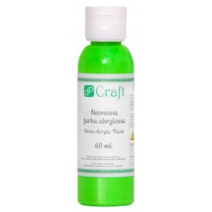 Farba akrylowa neonowa 60 ml Green