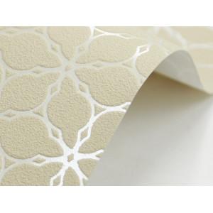 Papier ozdobny, wzorzysty - piaskowy