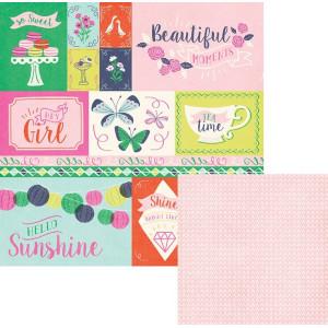 Papier We R -  Flower Girl - Petals