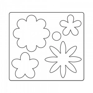 Sizzix Bigz Die - Flower Layers