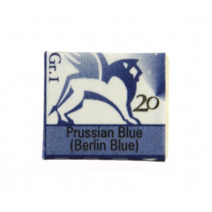 Watercolors in cubes - Renesans - 1,5 ml - Prussian Blue ( Berlin Blue )