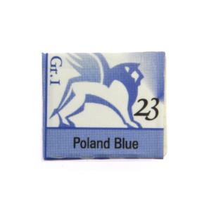 Watercolors in cubes - Renesans - 1,5 ml - Poland Blue