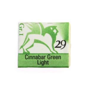 Watercolors in cubes - Renesans - 1,5 ml - Cinnabar Green Light