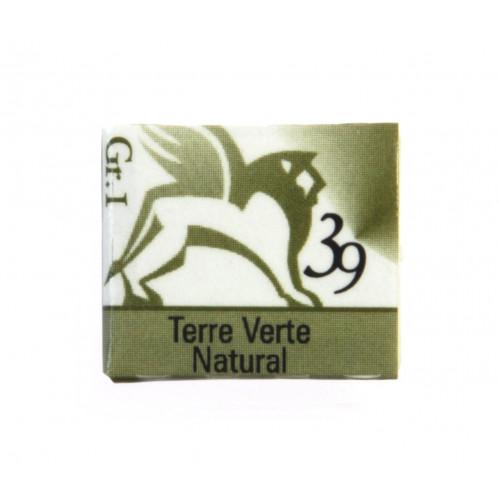 Akwarele w kostkach - Renesans - 1,5 ml - Terre Verte Natural