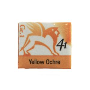 Akwarele w kostkach - Renesans - 1,5 ml - Yellow Ochre
