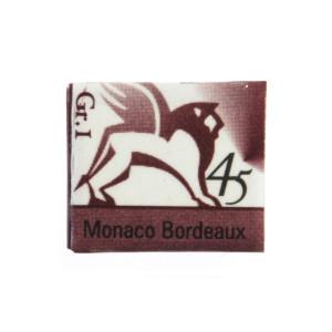 Watercolors in cubes - Renesans - 1,5 ml - Monaco Bordeaux