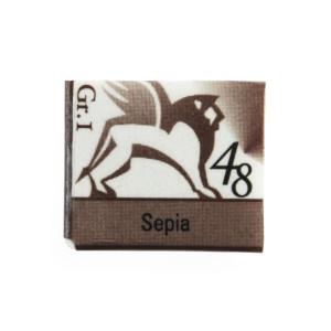 Akwarele w kostkach - Renesans - 1,5 ml - Sepia