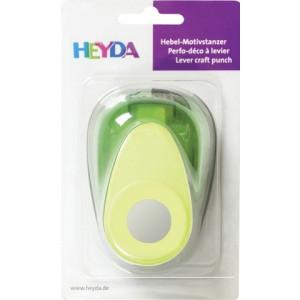 Dziurkacz ozdobny 3,3 cm - Heyda - Koło