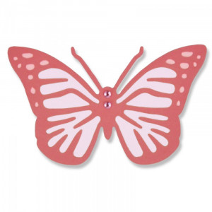 Sizzix Thinlits Die - Intricate Vintage Butterfly