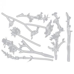 Zestaw wykrojników Sizzix - Thinlits Die - Wildflowers - 7 szt.