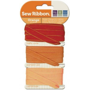 Tasiemki We R - Sew Ribbon - Orange