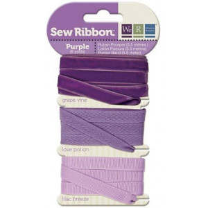 Tasiemki We R - Sew Ribbon - Purple